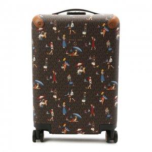 Чемодан Travel MICHAEL Kors. Цвет: коричневый