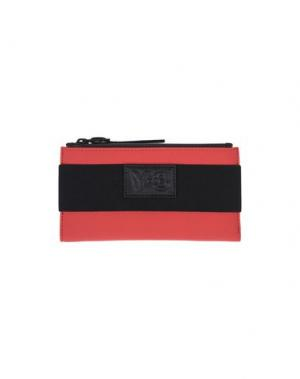 Бумажник Y-3. Цвет: красный