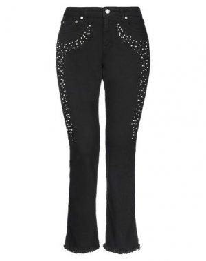 Джинсовые брюки TOY G.. Цвет: черный