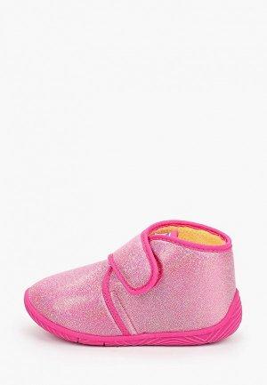 Тапочки Chicco. Цвет: розовый