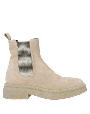 Полусапоги и высокие ботинки FRU.IT. Цвет: песочный