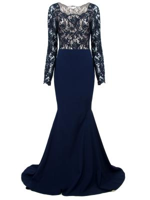 Костюм: боди + юбка ANTONIO BERARDI. Цвет: синий
