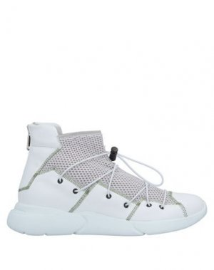 Высокие кеды и кроссовки IXOS. Цвет: белый