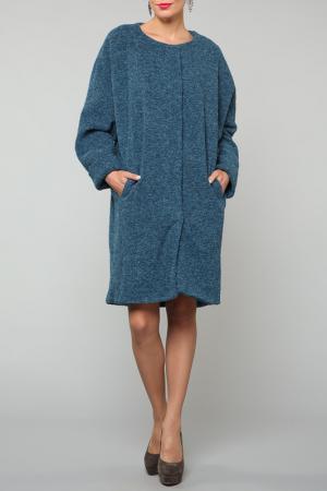 Пальто Kata Binska. Цвет: бирюзовый