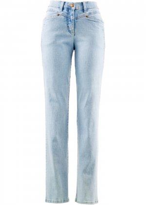 Комфортные джинсы стретч bonprix. Цвет: синий