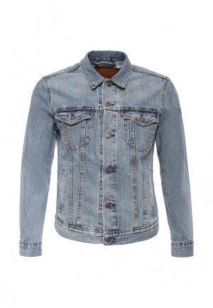 Куртка джинсовая Levis® Levi's® Trucker. Цвет: голубой