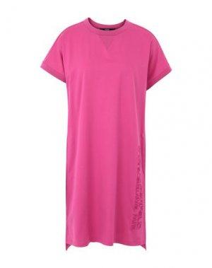 Короткое платье KARL LAGERFELD. Цвет: фуксия
