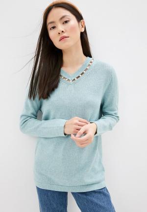 Пуловер Gerry Weber. Цвет: бирюзовый