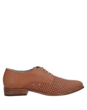 Обувь на шнурках FORMENTINI. Цвет: желто-коричневый