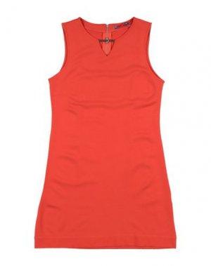 Платье PAULINE B.. Цвет: оранжевый