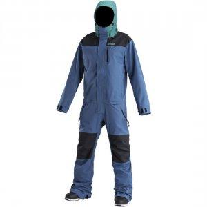 Сноубордический комбинезон Freedom Suit Airblaster. Цвет: синий