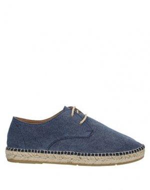 Обувь на шнурках ESPADRIJ. Цвет: грифельно-синий