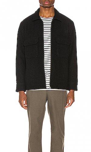 Шерстяная куртка feild NEUW. Цвет: черный