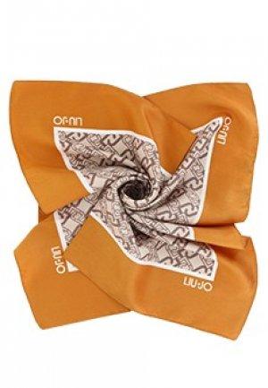 Платок LIU JO. Цвет: оранжевый