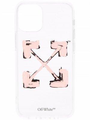 Чехол для iPhone 12 Mini с логотипом Arrows Off-White. Цвет: нейтральные цвета