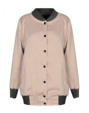 Куртка GOLD. Цвет: бежевый