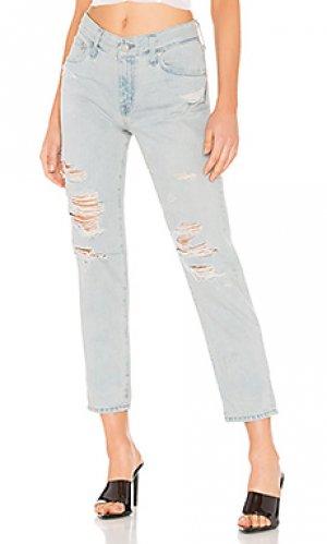 Облегающие джинсы бойфренд ex boyfriend AG Adriano Goldschmied. Цвет: none