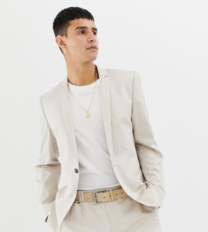 Светло-бежевый приталенный пиджак Noak