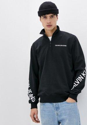 Олимпийка Calvin Klein Jeans. Цвет: черный