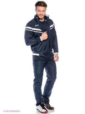 Спортивный костюм SUIT SEASON ASICS. Цвет: темно-синий, белый