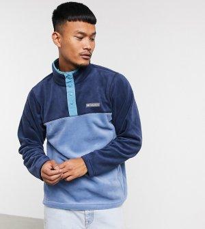 Синяя флисовая куртка с планкой на кнопках Steens Mountain – эксклюзивно ASOS-Голубой Columbia