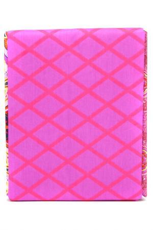 Постельное белье евро 70x70 Fantasy. Цвет: коричневый, фиолетовый