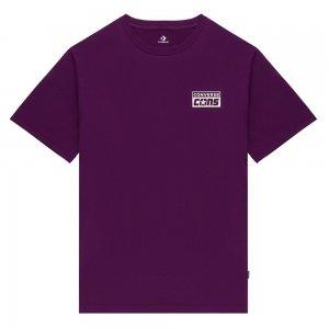 Cons Short Sleeve Tee Converse. Цвет: фиолетовый
