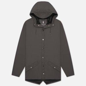 Мужская куртка дождевик Jacket Rains. Цвет: серый