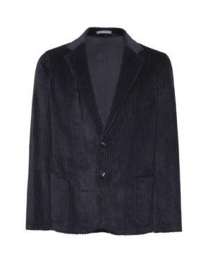 Пиджак 8 by YOOX. Цвет: темно-синий