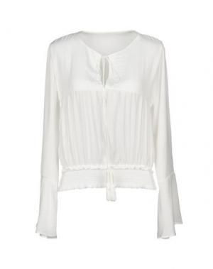 Блузка F**K PROJECT. Цвет: белый