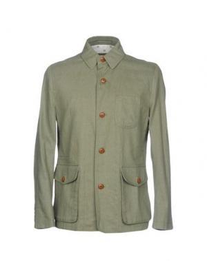 Пиджак PLECTRUM by BEN SHERMAN. Цвет: зеленый-милитари