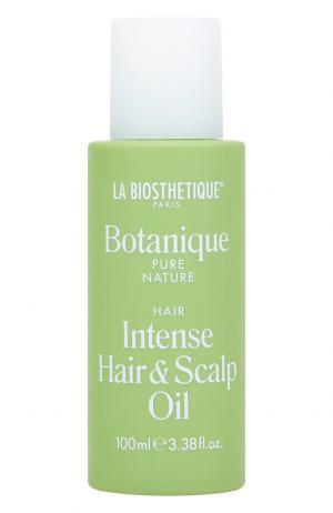 Питательное масло для волос и кожи головы La Biosthetique. Цвет: бесцветный