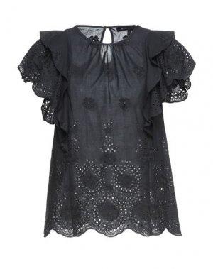 Блузка BCBGMAXAZRIA. Цвет: черный