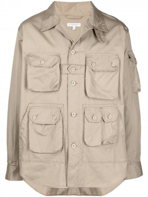 Куртка-рубашка Explorer Engineered Garments. Цвет: нейтральные цвета