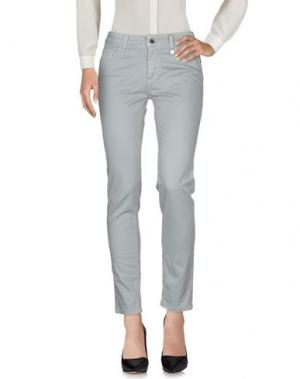 Повседневные брюки ANNA RACHELE JEANS COLLECTION. Цвет: светло-серый