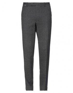 Повседневные брюки CINQUE. Цвет: стальной серый