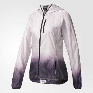 Ветровка TERREX Agravic adidas. Цвет: серый