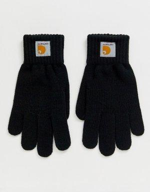 Черные перчатки Watch-Черный Carhartt WIP