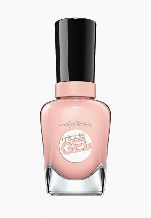 Гель-лак для ногтей Sally Hansen Miracle Gel, 246 In the Sheer, 14 мл. Цвет: розовый