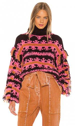 Пуловер lubina Ulla Johnson. Цвет: розовый