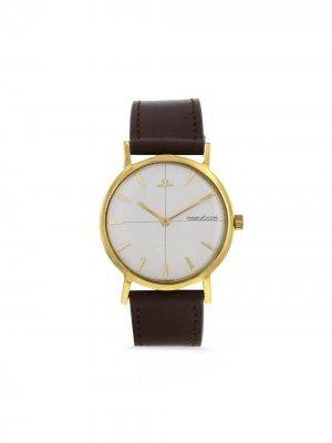 Наручные часы pre-owned 34 мм 1960-х годов Jaeger-LeCoultre. Цвет: cream