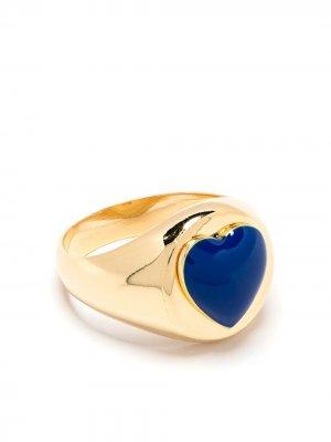 Перстень Heart Wilhelmina Garcia. Цвет: золотистый