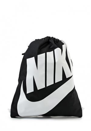 Мешок Nike Sportswear Heritage. Цвет: черный