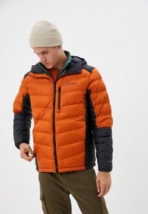 Куртка утепленная Columbia Labyrinth Loop™. Цвет: оранжевый