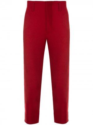 Спортивные брюки с лампасами Ports V. Цвет: красный