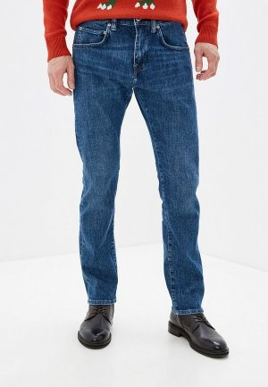 Джинсы Edwin ED-55 Blue Denim 12,8 oz. Цвет: синий