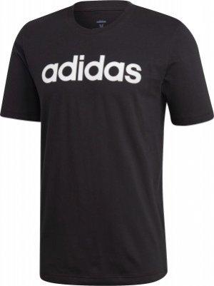 Футболка мужская adidas Essentials Linear, размер 48-50. Цвет: черный