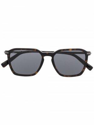 Солнцезащитные очки Finley в оправе черепаховой расцветки Dsquared2 Eyewear. Цвет: черный