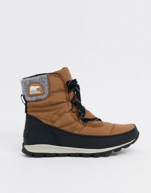 Светло-коричневые зимние ботинки -Светло-коричневый Sorel