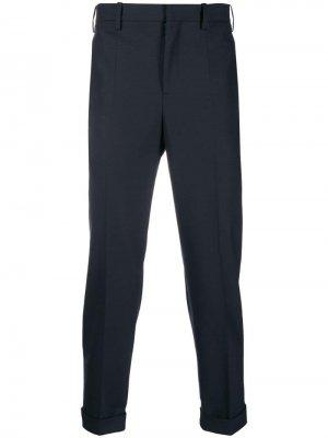 Классические брюки с контрастным полосками Neil Barrett
